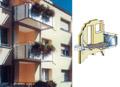Навесные балконы