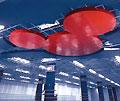 Пример удачного решения декоративного подвесного потолка (USG/DONN)